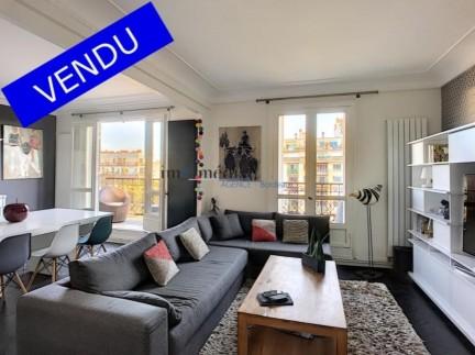 Paris: 4 pièces: Magnifique appartement haussmannien très lumineux